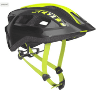 Scott Supra Helmet Yellow Fluorescent